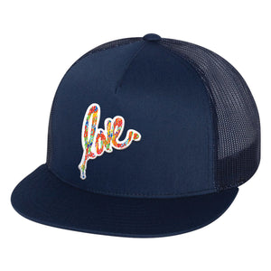 Blue Love Hat