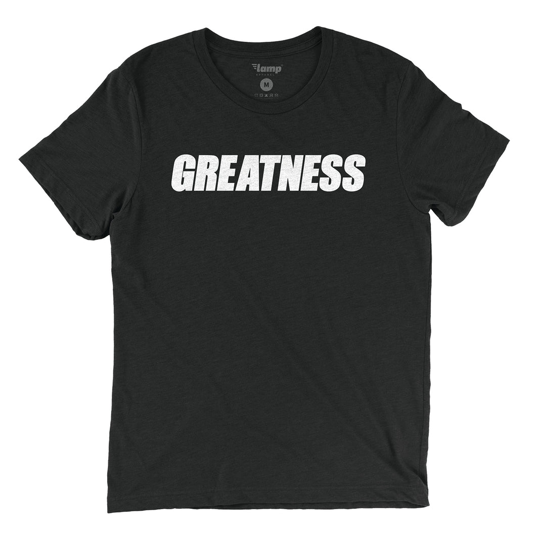 Black Greatness Tee