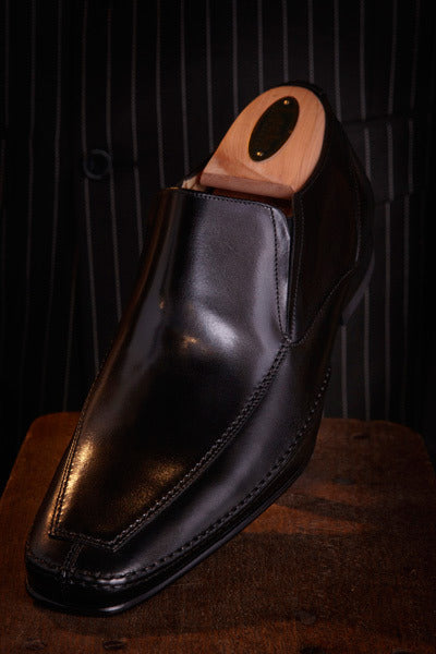 Loakes Matthew Black Leather