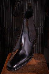 Loakes Mitchum Boot Black Leather