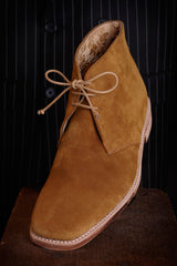 Loakes Trapper Caligula Brown Suede Desert Boot