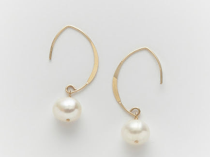 Lombok South Sea Pearl Dangle Earrings