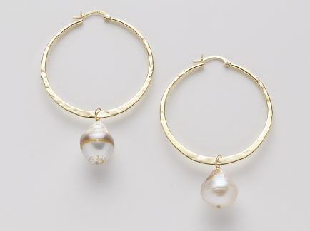 Tasha Hoop Earrings