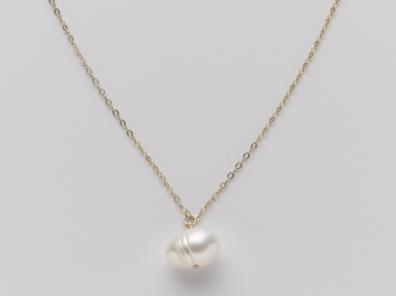 White Lombok South Sea Pearl Pendant