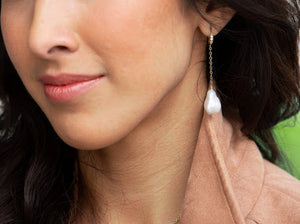 Hendon Earrings (available with silver or gold fill)