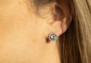 "Round ""Better than Diamonds"" Cubic Zirconia Studs"