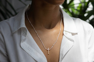 Linny Gem and Cross Necklaces