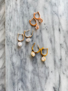 McKinsey Earrings (Silver, Yellow Gold, and Rose Gold)