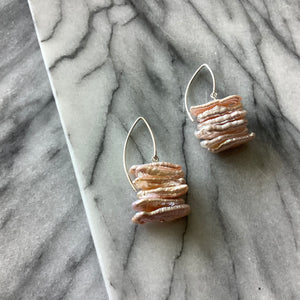 Sengigi Pearl Earrings