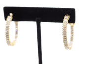 Load image into Gallery viewer, Resolution Hoop Earrings (Silver or Gold)