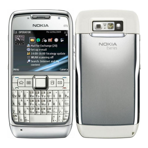 Refurbished Nokia E71 with WI-FI (FREE Earphones)