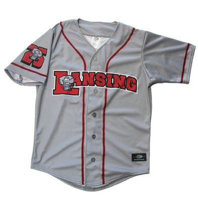 Lansing Lugnuts Throwback 1996 Road Replica Jersey