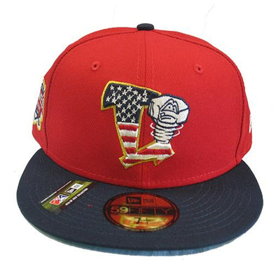 Lansing Lugnuts 2019 New Era Stars and Stripes Official Cap