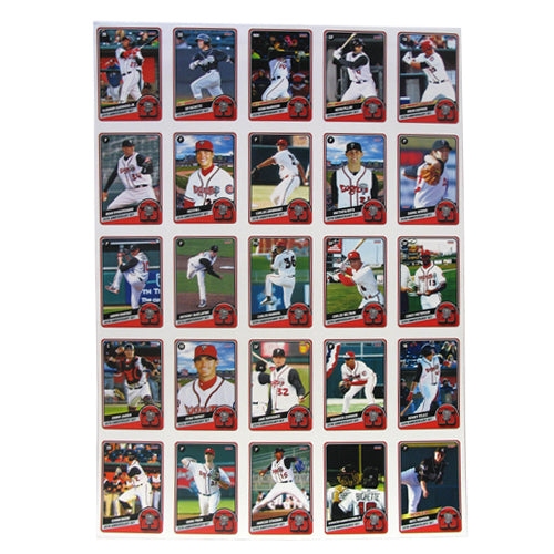 Lansing Lugnuts 25th Anniversary Card Set