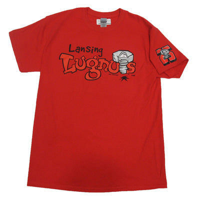 Lansing Lugnuts 25th Anniversary Primary Logo T-shirt