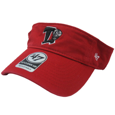 47 Brand Red Clean Up Visor