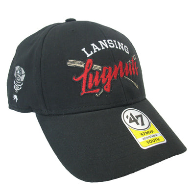 Youth 47 Brand Black MVP Hat