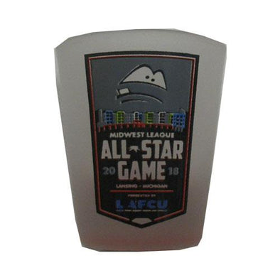 Lansing Lugnuts MWL All-Star Game Shot Glass