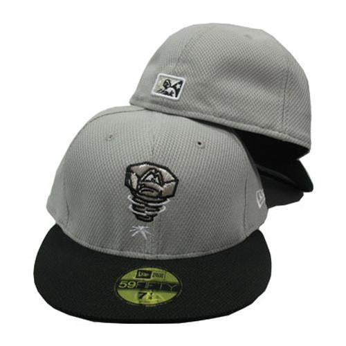 Lansing Lugnuts BP Diamond Era Cap - Gray/Black