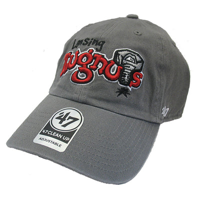 47 Brand Primary Logo Dark Gray Clean Up Hat