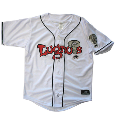 Lansing Lugnuts Adult Home Replica Jersey - White