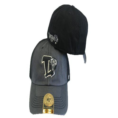 Lansing Lugnuts 47 Brand Franchise Hat - Charcoal/Black