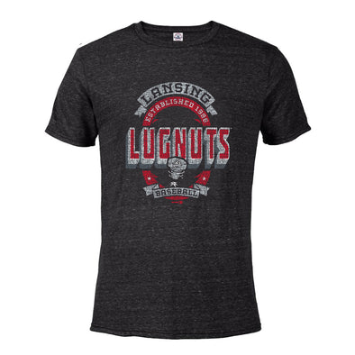 Lansing Lugnuts Snow Heather T-shirt