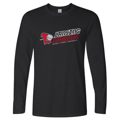 Lansing Lugnuts Softstyle Long-Sleeve T-shirt