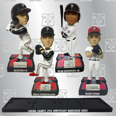 Lansing Lugnuts 25th Anniversary Bobble-head Package