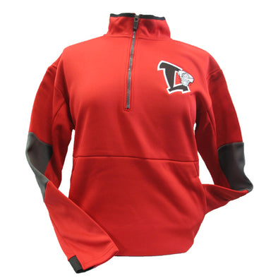 Lansing Lugnuts Ladies Holloway Sof-Stretch 1/4 Zip Pullover