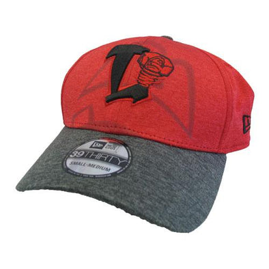 Lansing Lugnuts New Era Logo Peak 39Thirty Hat