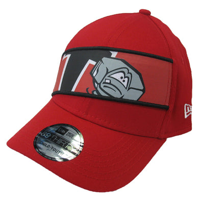 Lansing Lugnuts Kids New Era Panel Flex-Fit Hat