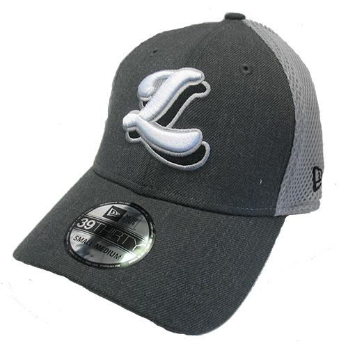 Lansing Lugnuts New Era Two-Tone Gray 3930 Hat