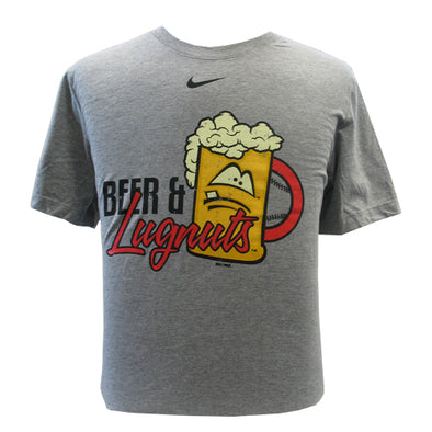 "Lansing Lugnuts Nike ""Beer and Lugnuts"" Cotton T-shirt"