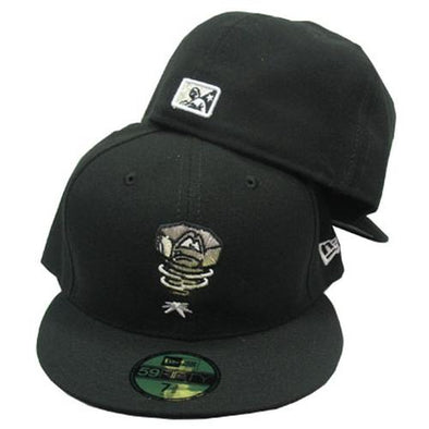 Lansing Lugnuts Official New Era 5950 Alt. #1 Cap - Black