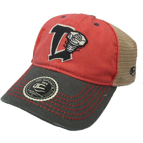 Lansing Lugnuts Outdoor Cap Tri-color Hank Hat