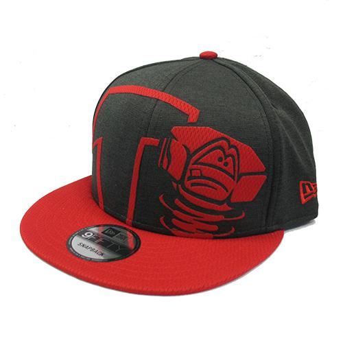 Lansing Lugnuts New Era Overshadow Snapback Hat
