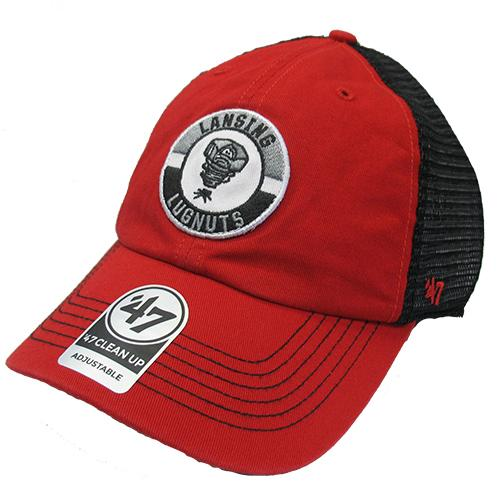 Lansing Lugnuts 47 Brand Porter Clean Up Adj. Hat