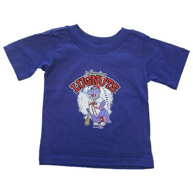 Lansing Lugnuts Infant Big Lug Purple T-shirt