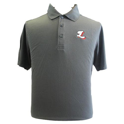 Lansing Lugnuts C-Buck Fairwood Link Gray Polo