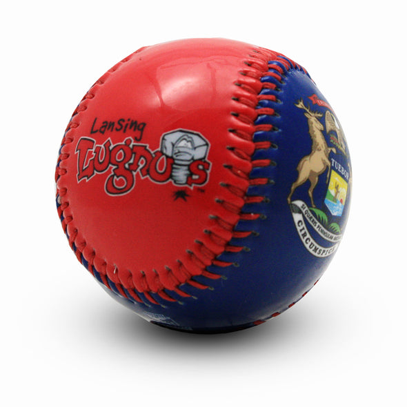 Lansing Lugnuts Michigan Flag Baseball