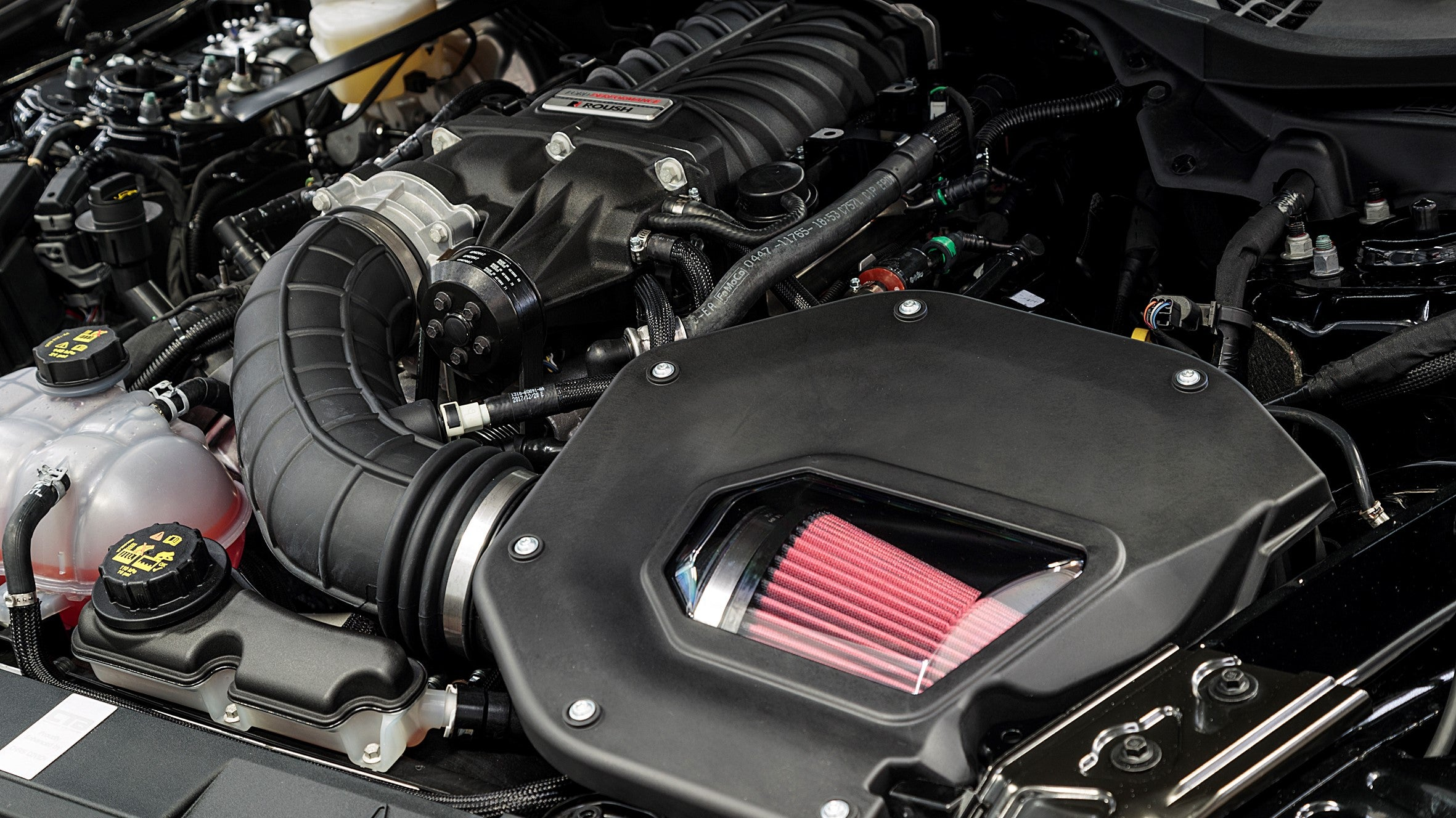 Mustang RTR Spec 3 Engine
