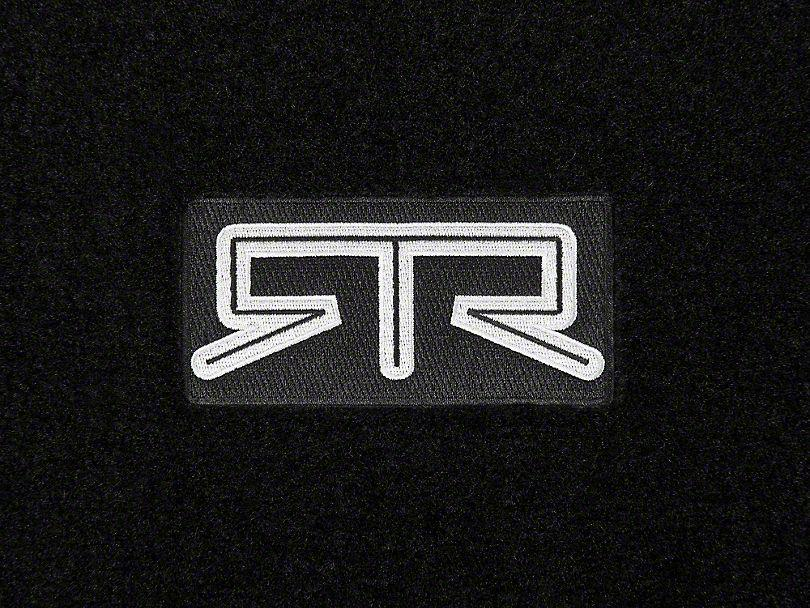RTR Front & Rear Floor Mats w/ RTR Logo - Black (13-14 All) - RTR Vehicles