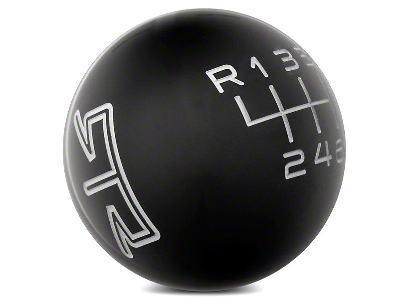 RTR Black Shift Knob - Gray Engraving (15-21 GT, EcoBoost, V6) - RTR Vehicles