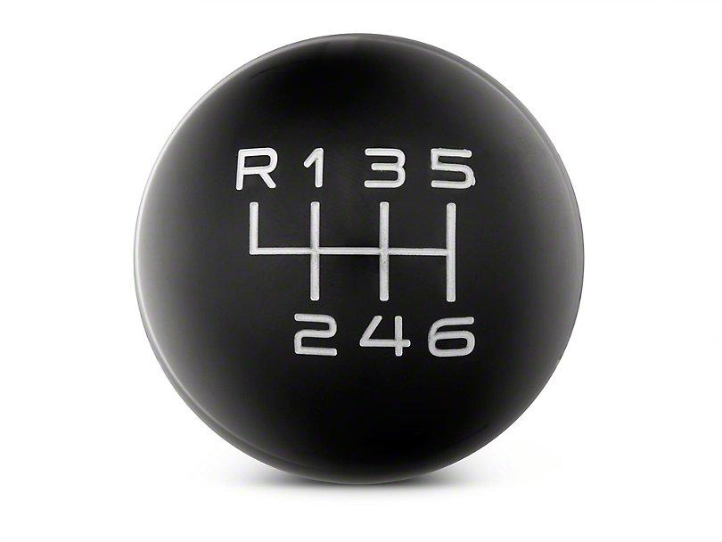 RTR Black Shift Knob - Gray Engraving (11-14 GT, V6) - RTR Vehicles