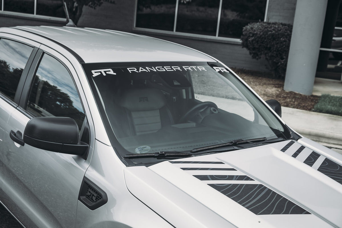 RTR Windshield Banner (19-21 Ranger - All) - RTR Vehicles