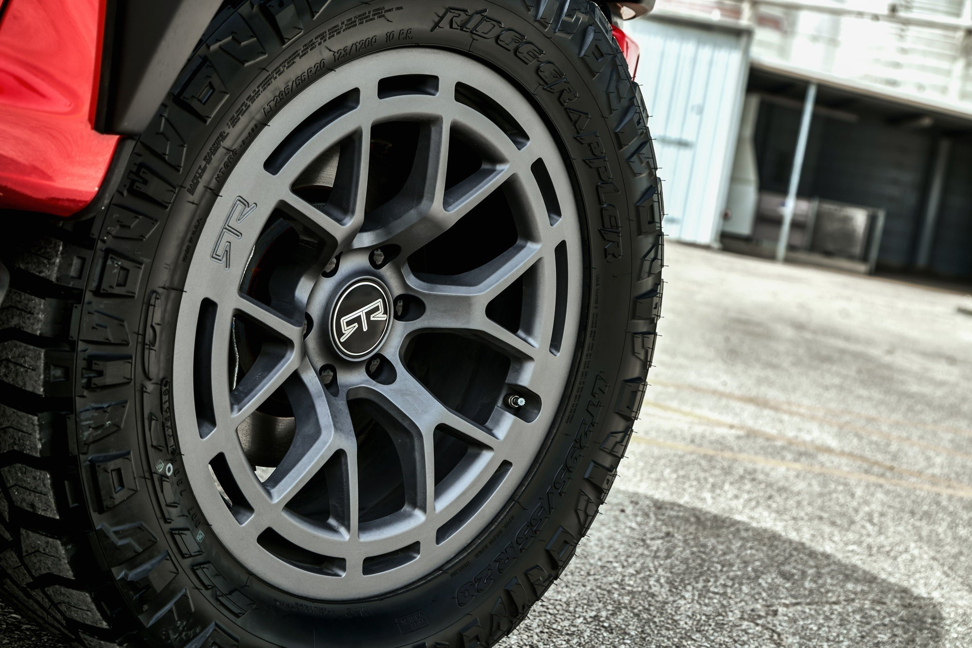 RTR Tech 6 Wheels w/ Nitto RidgeGrapplers Bundle - RTR Vehicles