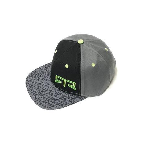 RTR Green And Grey Snap Back Hat