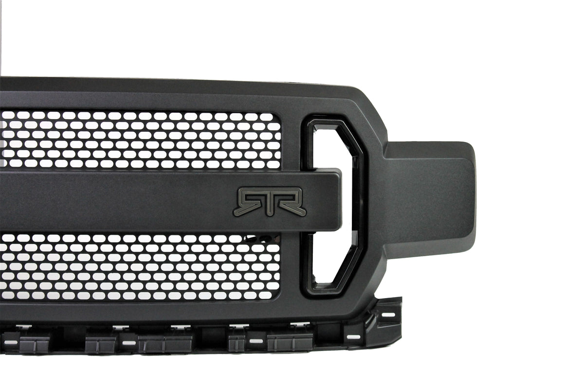 RTR Grille w/ LED Accent Vent Lights (18-20 F-150 - All Ex Raptor) - RTR Vehicles