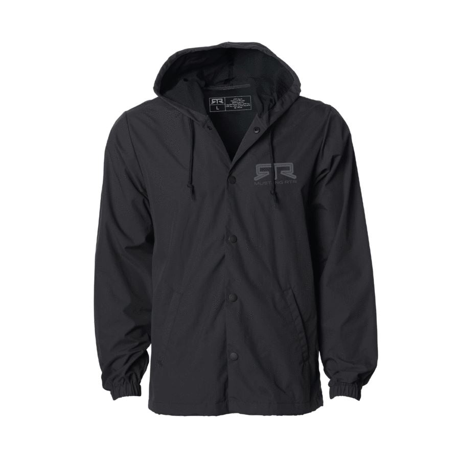RTR Logo Hooded Coaches Jacket - RTR Vehicles